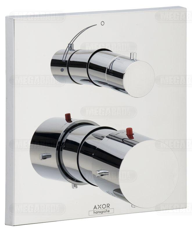 axor starck x thermostatbatterie up 10706000 megabad. Black Bedroom Furniture Sets. Home Design Ideas