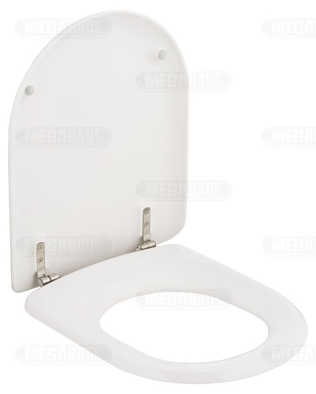 pressalit wc sitz magnum zu v b mit b33 festscharnier 104000 b33999 megabad. Black Bedroom Furniture Sets. Home Design Ideas