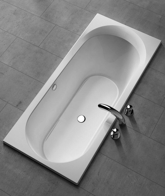 koralle t500 badewanne 180 x 80 x 47 cm berlauf vorne k60040000 megabad. Black Bedroom Furniture Sets. Home Design Ideas