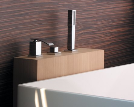 hego ioquadro 3 loch wannenrandarmatur megabad. Black Bedroom Furniture Sets. Home Design Ideas