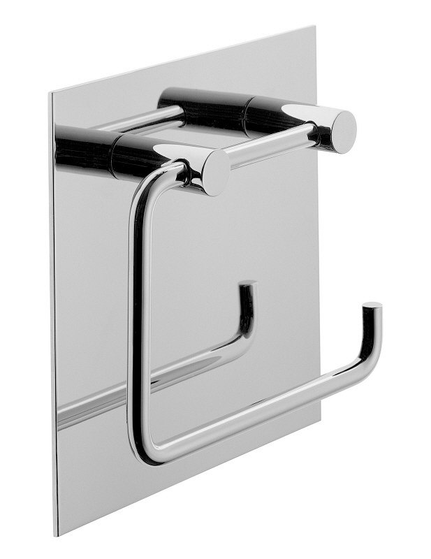 jado geometry toilettenpapierhalter mit r ckwand art f1327aa megabad. Black Bedroom Furniture Sets. Home Design Ideas