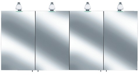 keuco royal 30 spiegelschrank 160 x 78 5 cm 05605171301 megabad. Black Bedroom Furniture Sets. Home Design Ideas