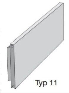 zehnder plano flachheizk rper ph1172800m0527 5510 megabad. Black Bedroom Furniture Sets. Home Design Ideas