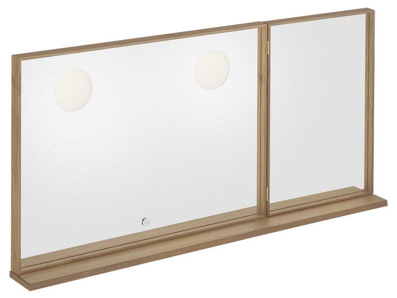 villeroy boch pure stone spiegel 120 x 60 x 14 cm megabad. Black Bedroom Furniture Sets. Home Design Ideas