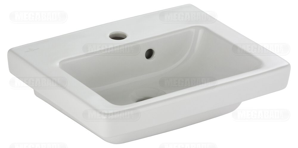 villeroy boch subway 2 0 handwaschbecken 731545 xx megabad. Black Bedroom Furniture Sets. Home Design Ideas