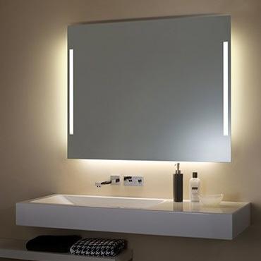 Zierath torino lichtspiegel hinterleuchtet 140 x 70 cm - Badspiegel zierath ...