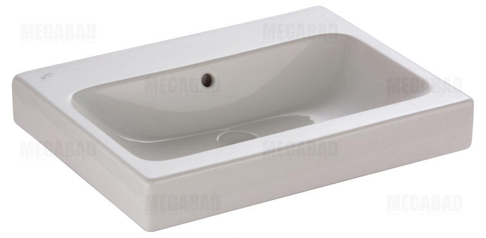 keramag icon waschtisch 60 cm ohne hahnloch megabad. Black Bedroom Furniture Sets. Home Design Ideas