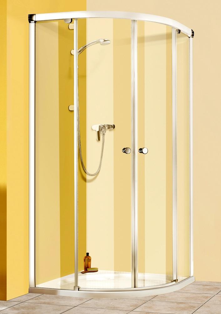 breuer fara runddusche rd4 r500 mit schiebet ren r 50 cm megabad. Black Bedroom Furniture Sets. Home Design Ideas