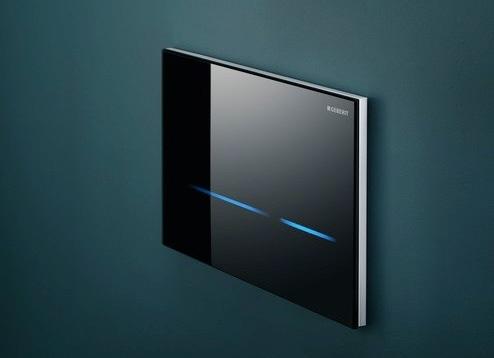 geberit wc steuerung mit elektronischer sp lausl sung megabad. Black Bedroom Furniture Sets. Home Design Ideas