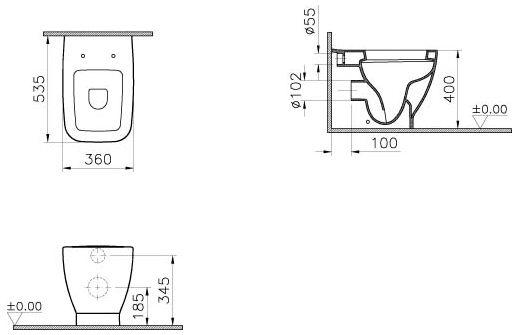 vitra shift stand wc tiefsp ler 4393b003 0075 megabad. Black Bedroom Furniture Sets. Home Design Ideas