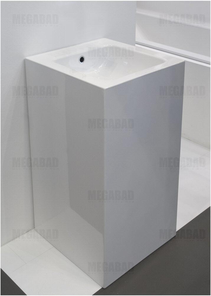 bette betteone monolith waschtisch 50 x 50 x 90 cm art. Black Bedroom Furniture Sets. Home Design Ideas
