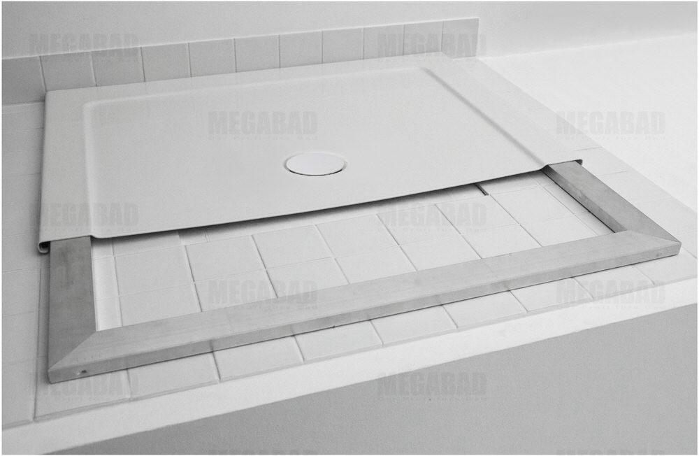 bette one duschwanne 140 x 100 cm mit tragrahmen art 3337. Black Bedroom Furniture Sets. Home Design Ideas