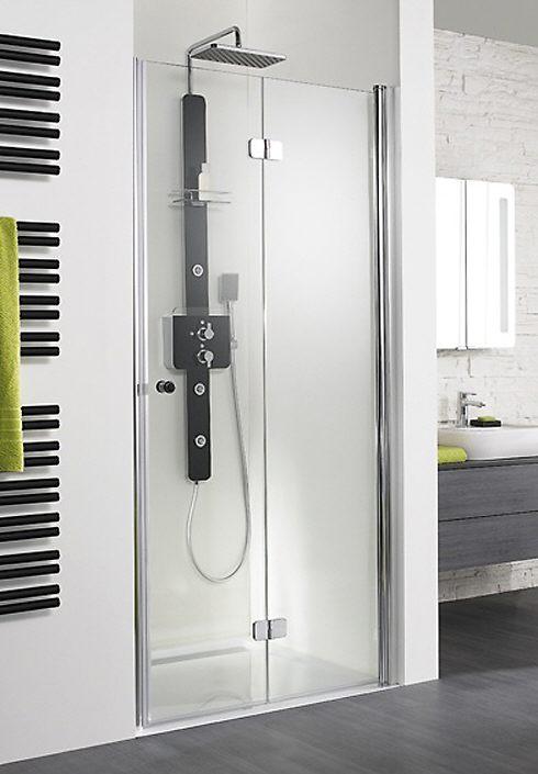 hsk exklusiv drehfaltt r nische sonderma t ranschlag rechts megabad. Black Bedroom Furniture Sets. Home Design Ideas