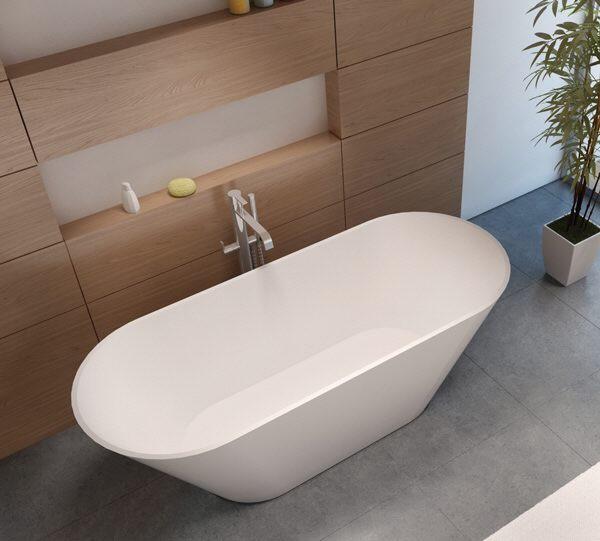 riho barcelona freistehende badewanne 170 x 70 cm bs05 megabad. Black Bedroom Furniture Sets. Home Design Ideas