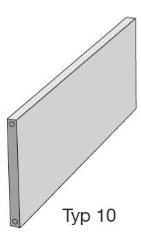 zehnder plano flachheizk rper ph1052500ral9010 5510 megabad. Black Bedroom Furniture Sets. Home Design Ideas