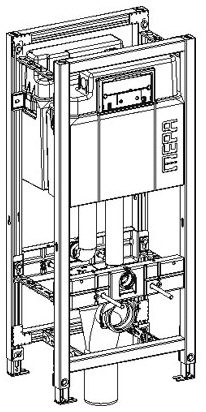 mepa varivit wc element sanicontrol doppelseitig typ a31 megabad. Black Bedroom Furniture Sets. Home Design Ideas