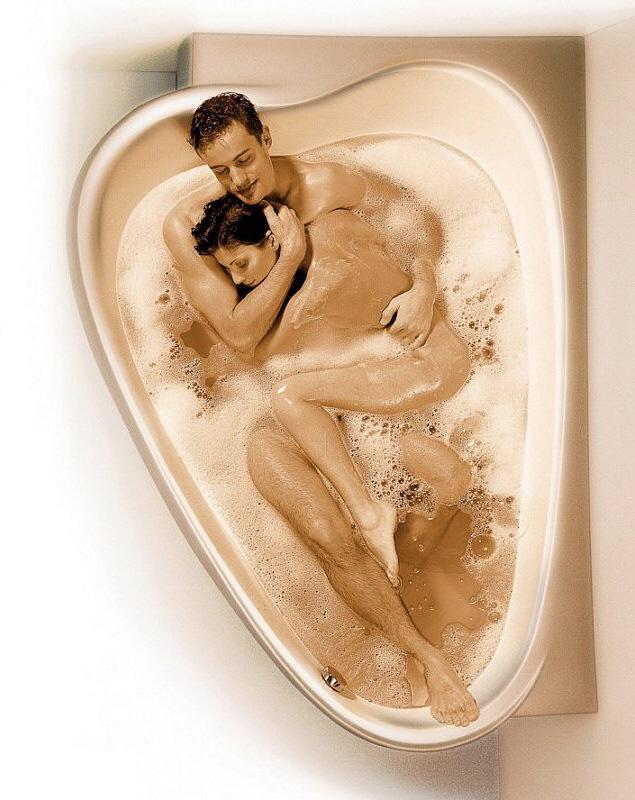 Шикрный секс в ванной комнате 14 фотография