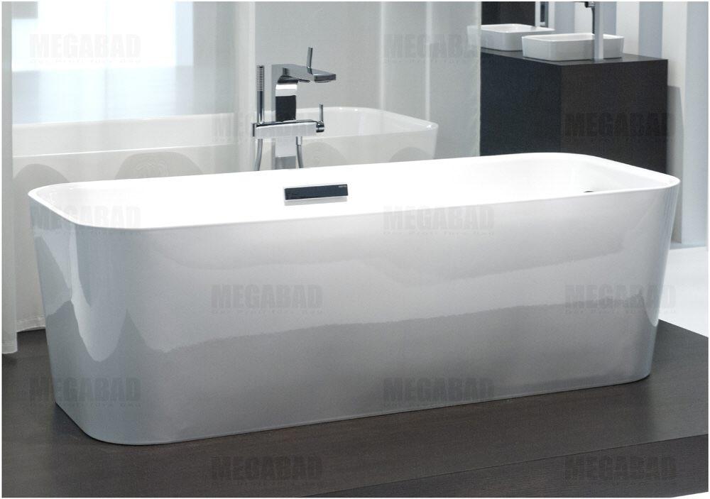 bette art freistehende badewanne mit ab und berlaufgarnitur megabad. Black Bedroom Furniture Sets. Home Design Ideas