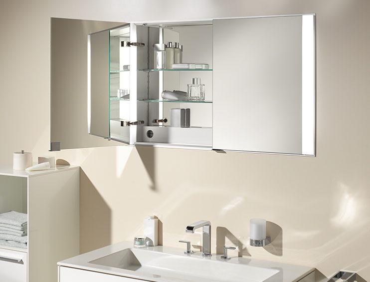 keuco royal 60 spiegelschrank 105 cm 22112171301 megabad. Black Bedroom Furniture Sets. Home Design Ideas