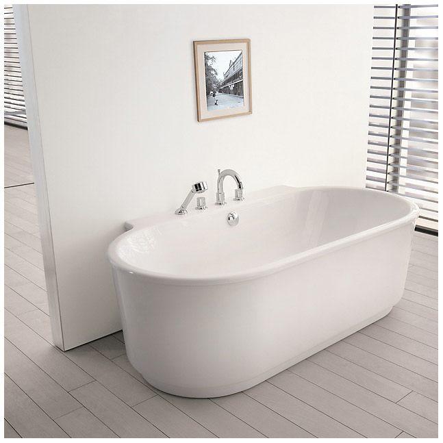 hoesch foster vorwand 190 x 102 cm freistehend mit. Black Bedroom Furniture Sets. Home Design Ideas