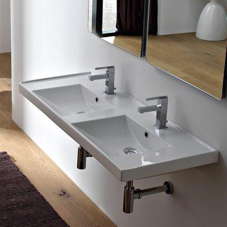 einen doppelwaschtisch von vielen online kaufen megabad. Black Bedroom Furniture Sets. Home Design Ideas