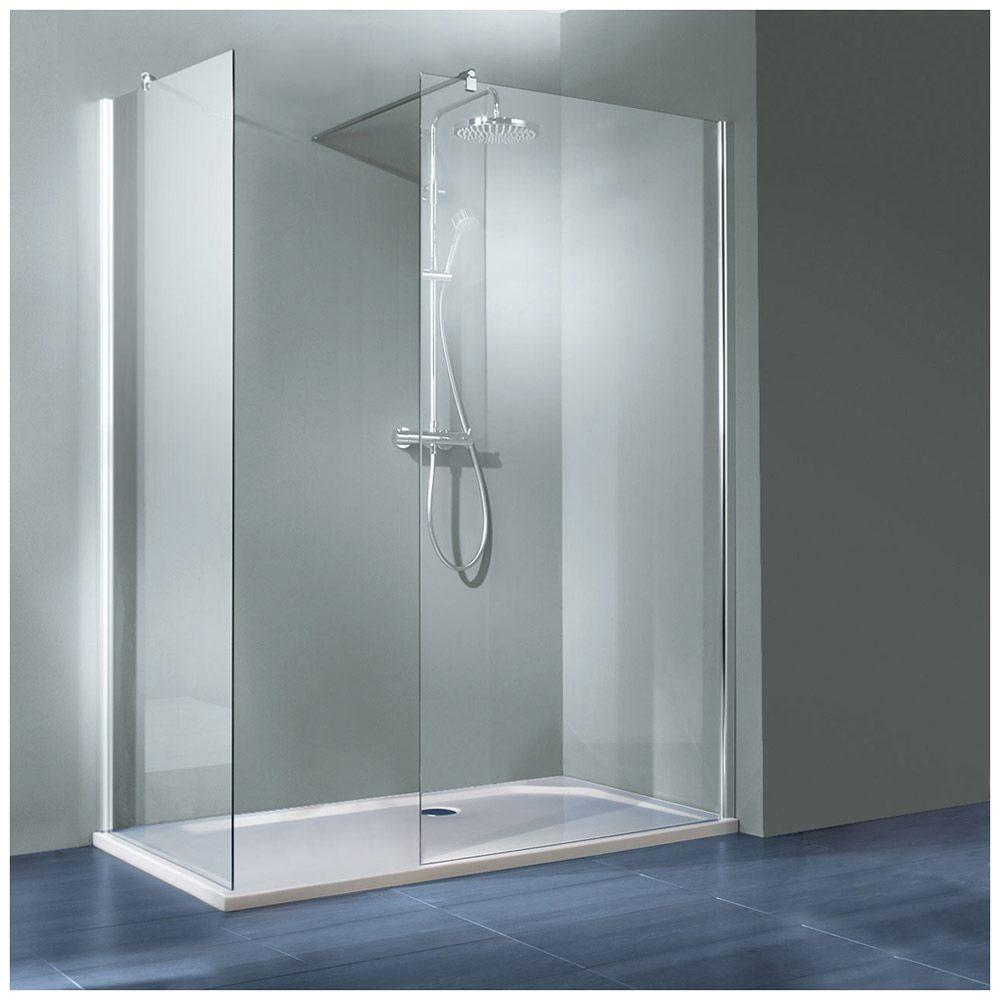Architekt walk in seitenwand 70 x 200 cm hstwisw070 41 200 megabad - Duschtrennwand bodengleiche dusche ...