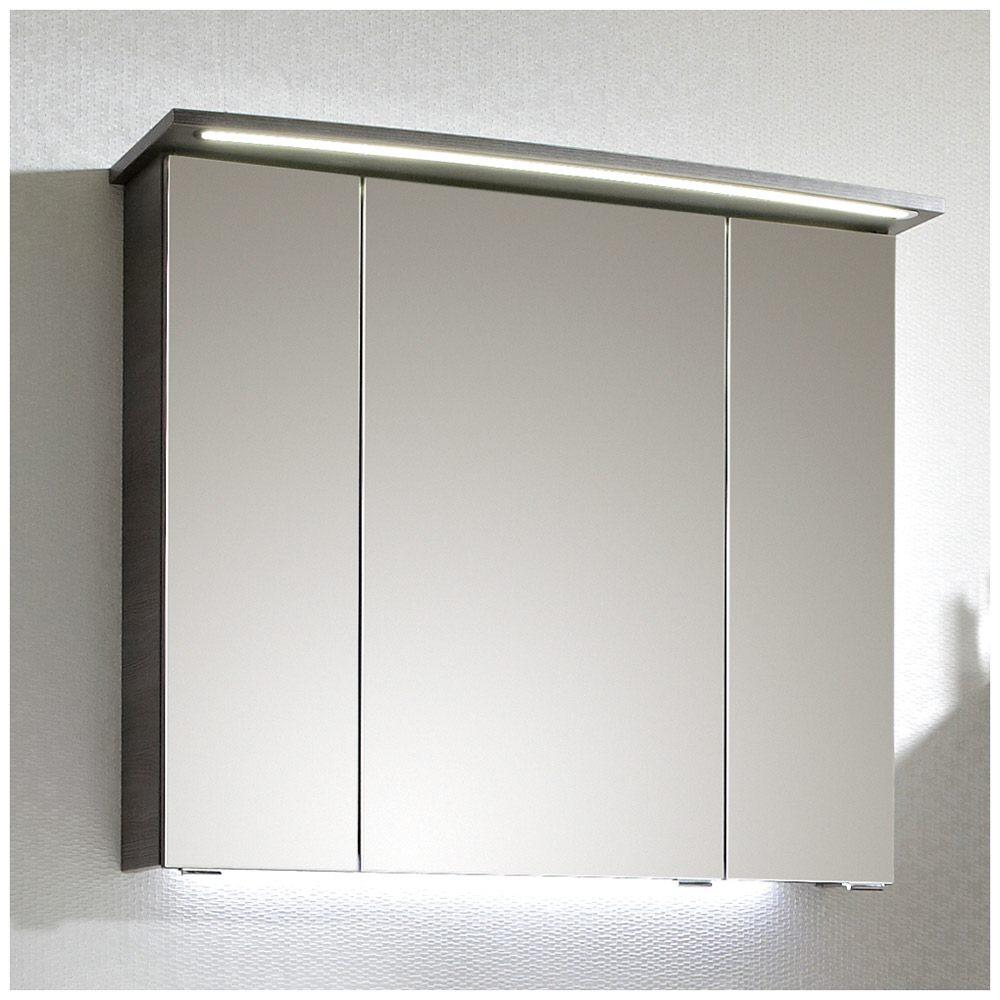 pelipal lunic spiegelschrank 80 x 17 x 72 cm lu sps24 25an megabad. Black Bedroom Furniture Sets. Home Design Ideas