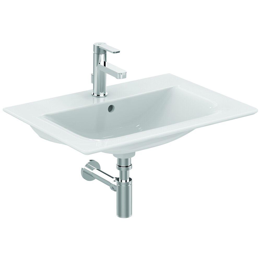 ideal standard connect air m belwaschtisch 64 x 46 cm. Black Bedroom Furniture Sets. Home Design Ideas