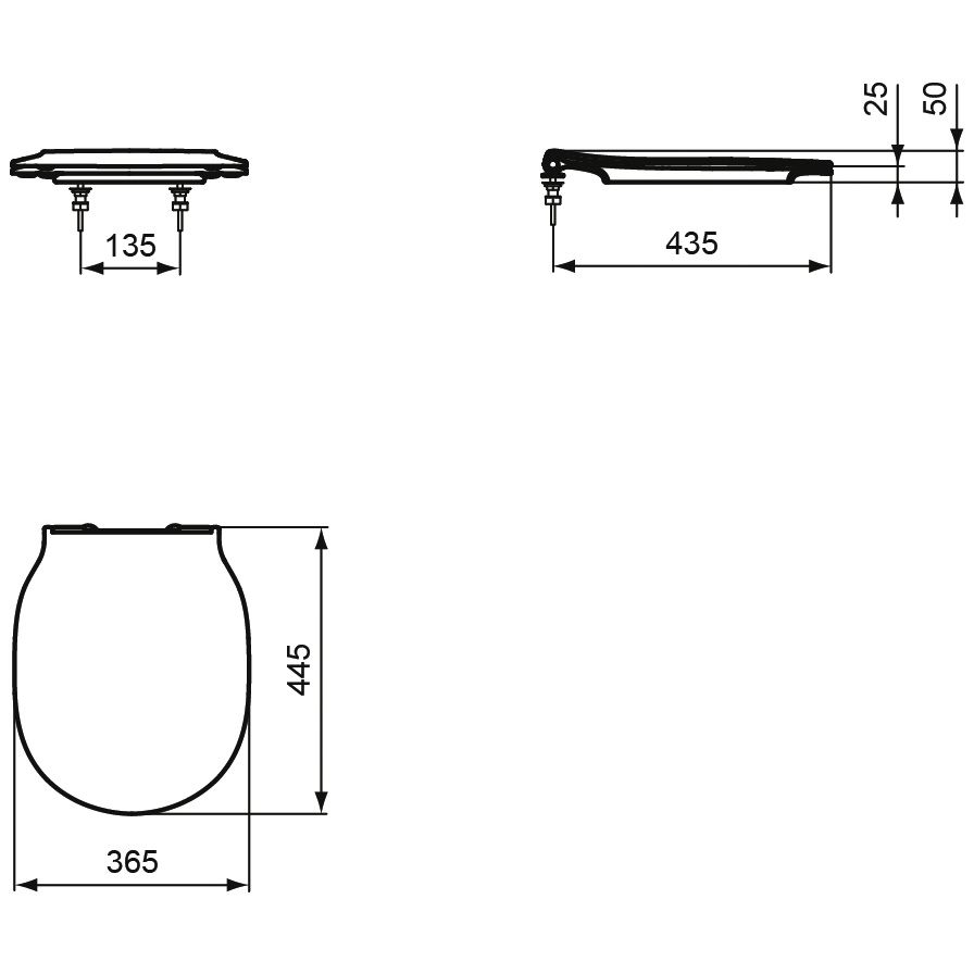ideal standard connect air wc sitz sandwich mit softclosing e036601 megabad. Black Bedroom Furniture Sets. Home Design Ideas