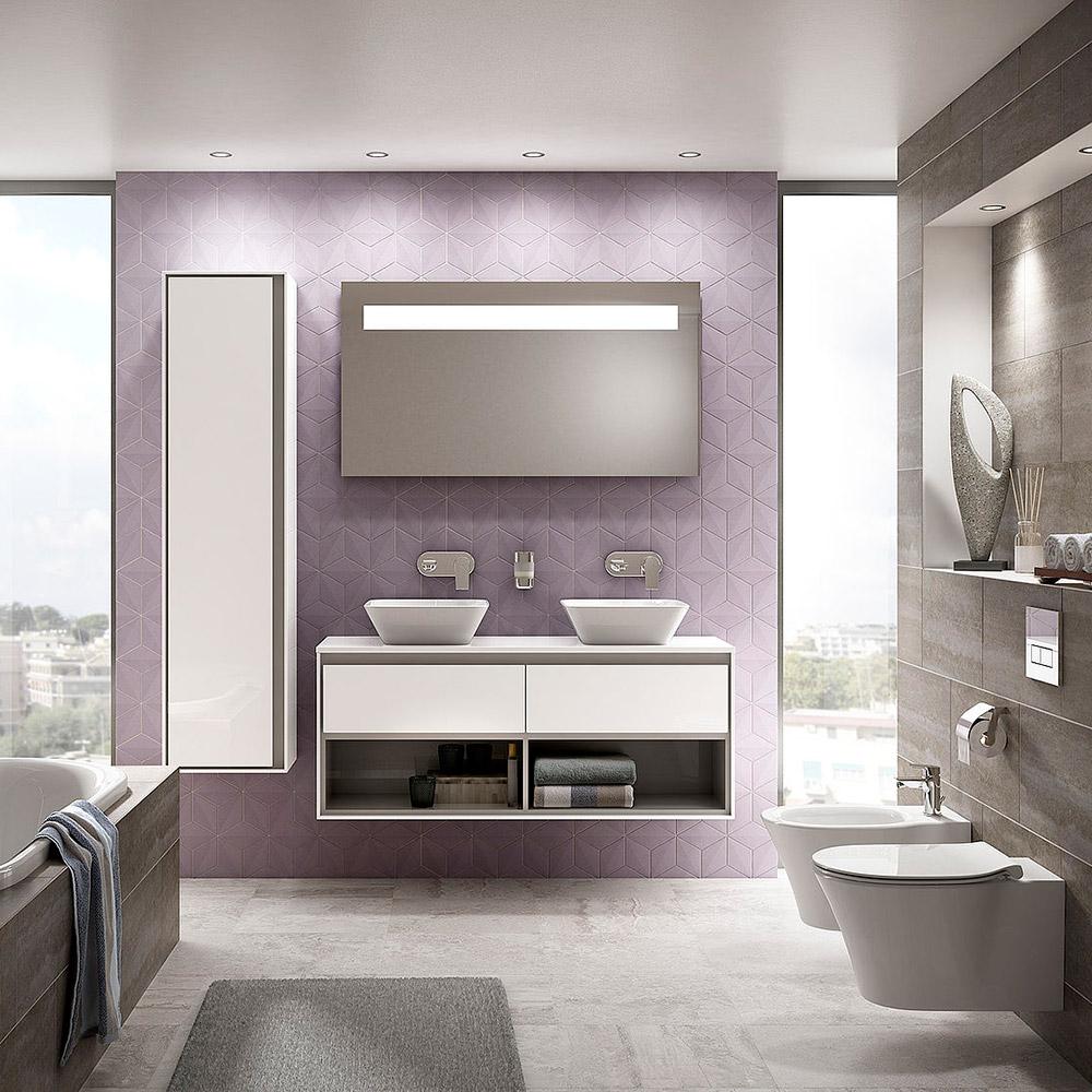 ideal standard connect air m belwaschtisch unterschrank 100 cm e0828b2 megabad. Black Bedroom Furniture Sets. Home Design Ideas