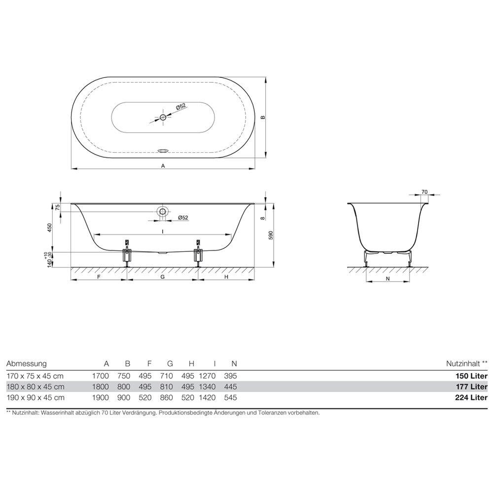 Bette badewannen die feinste sammlung von home design - Schone badewannen ...