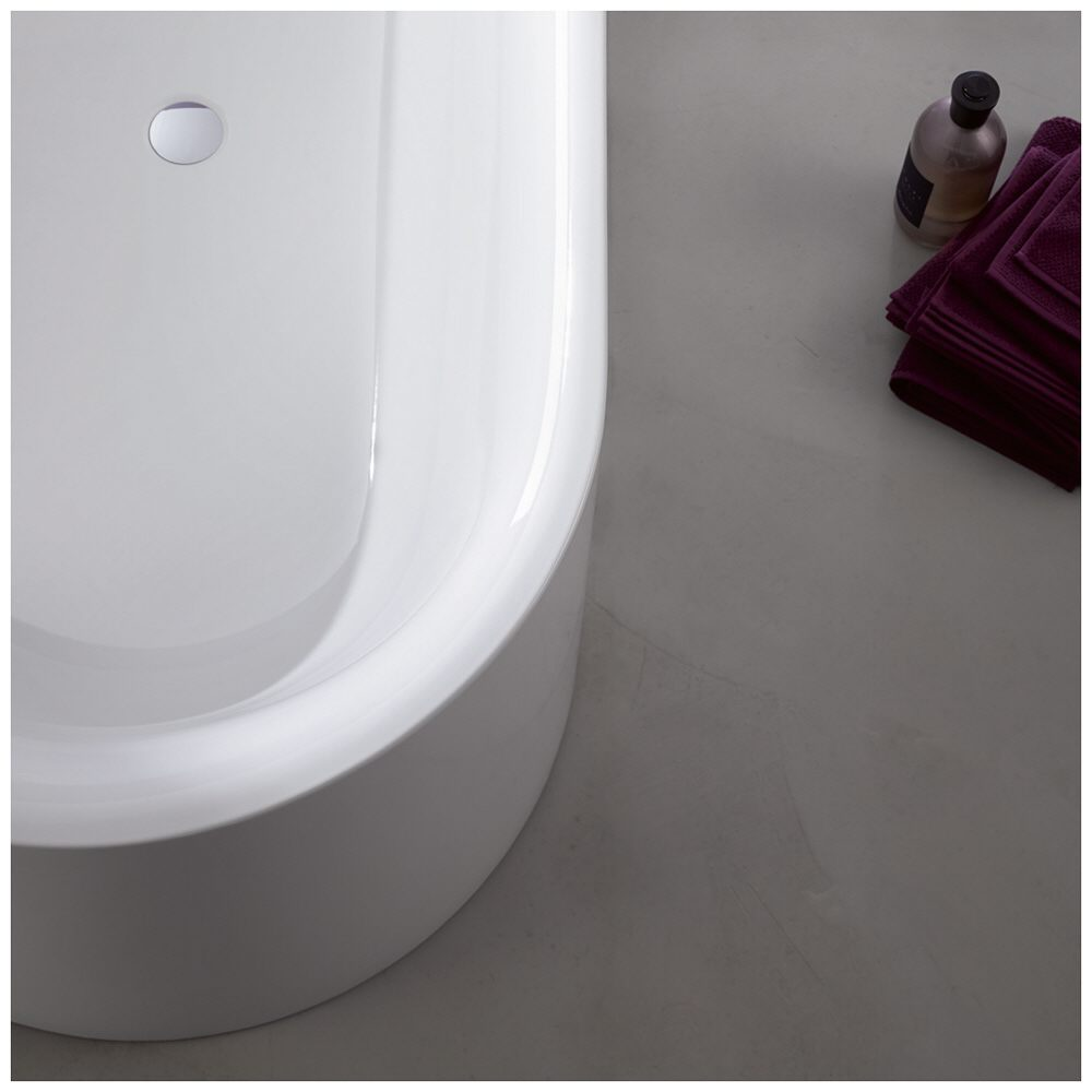 Bette lux iv silhouette oval badewanne 195 x 95 cm ecke for Badewannen hersteller