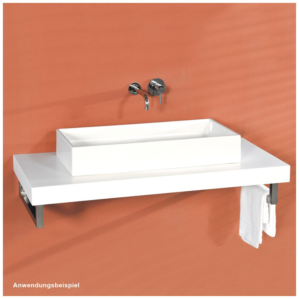 megabad architekt 100 himacs waschtischkonsole 60 cm mbkphm0600 megabad. Black Bedroom Furniture Sets. Home Design Ideas
