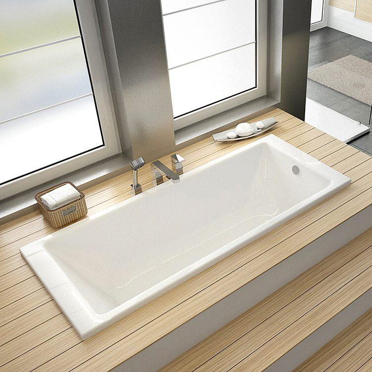 hoesch cuarto rechteck badewanne 180 x 80 cm. Black Bedroom Furniture Sets. Home Design Ideas