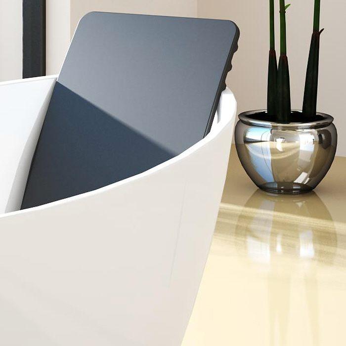 Interessant Hoesch Namur Oval-Badewanne 160 x 75 cm freistehend 4404.010 - MEGABAD AT97