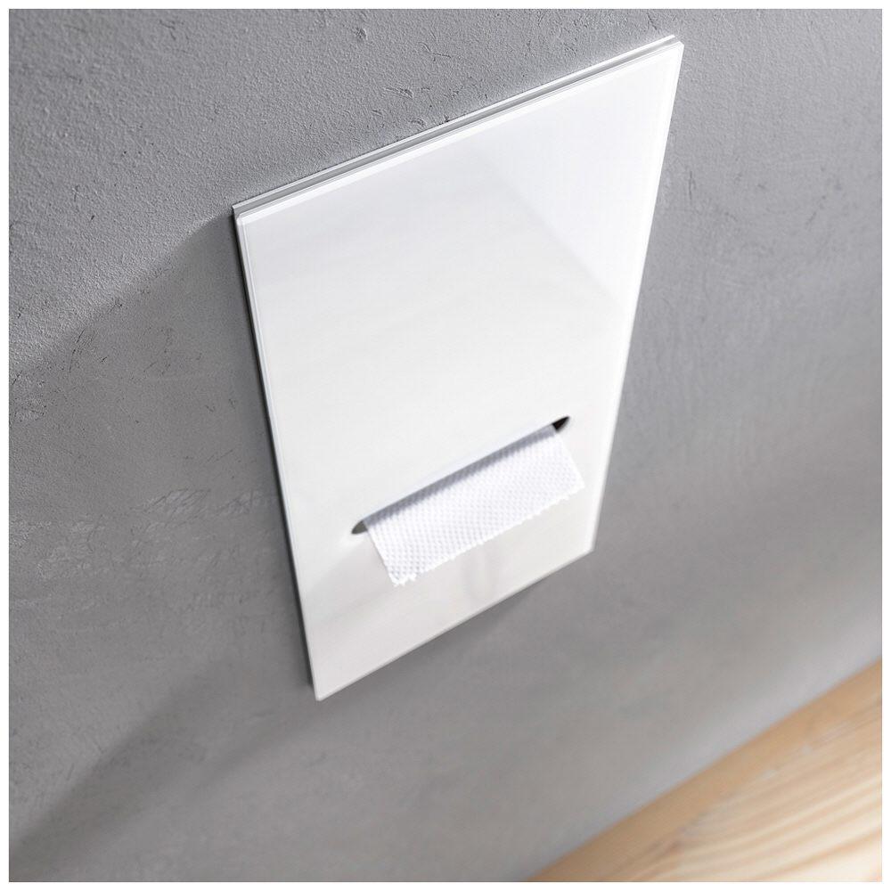 emco asis module 2 0 wc papier module unterputzmodell anschlag links 972427422 megabad. Black Bedroom Furniture Sets. Home Design Ideas