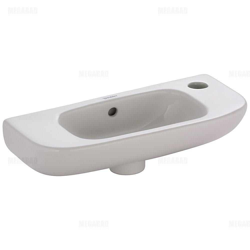 duravit d code handwaschbecken 1 hahnloch rechts. Black Bedroom Furniture Sets. Home Design Ideas