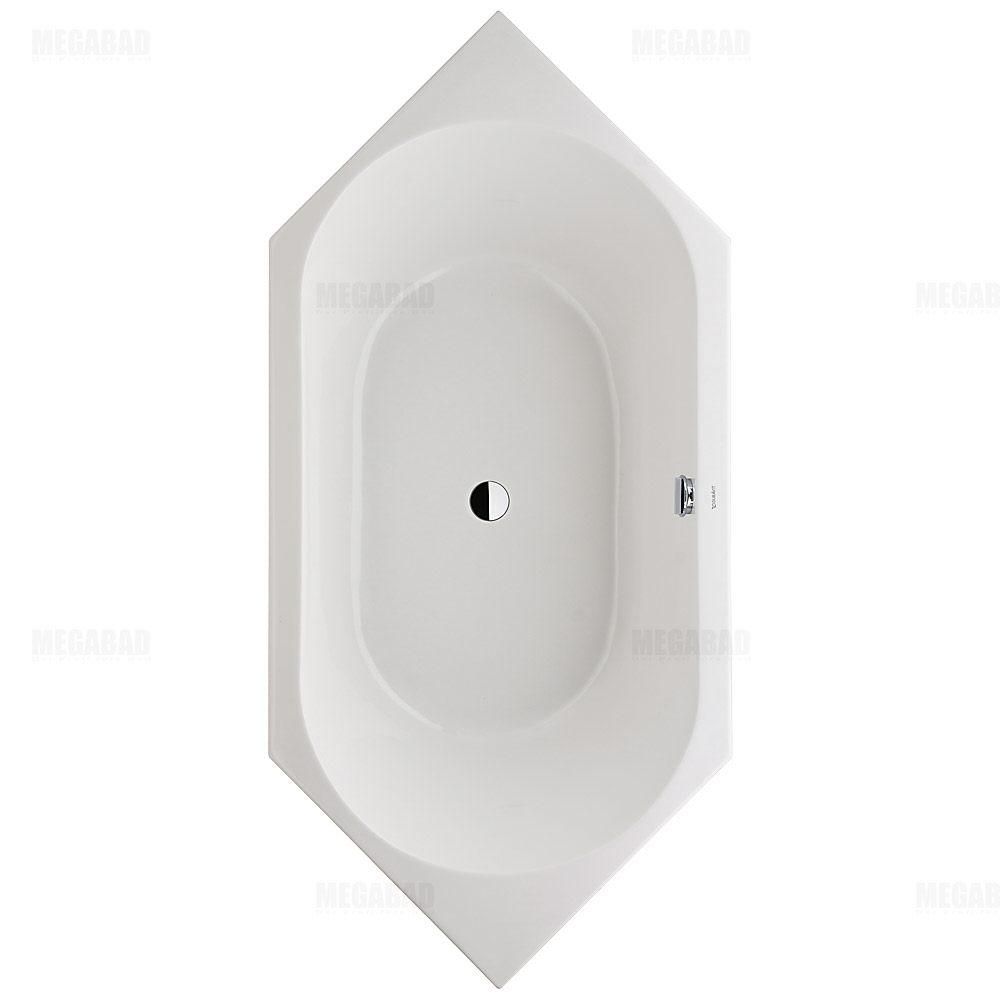 Sechseck badewanne  Duravit D-Code Sechseck-Badewanne 700138000000000 - MEGABAD
