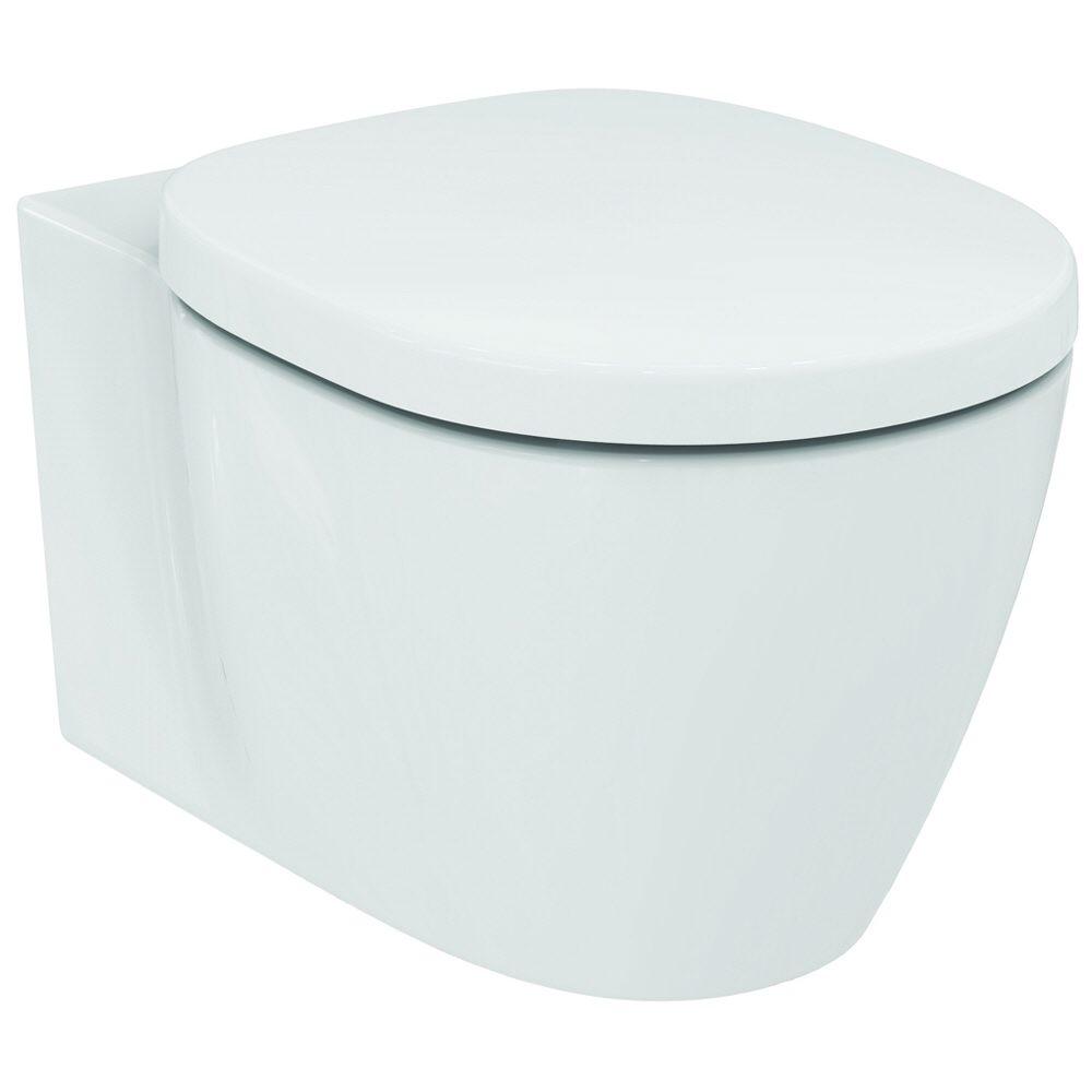 ideal standard connect wandtiefsp lklosett mit aquablade e047901 megabad. Black Bedroom Furniture Sets. Home Design Ideas