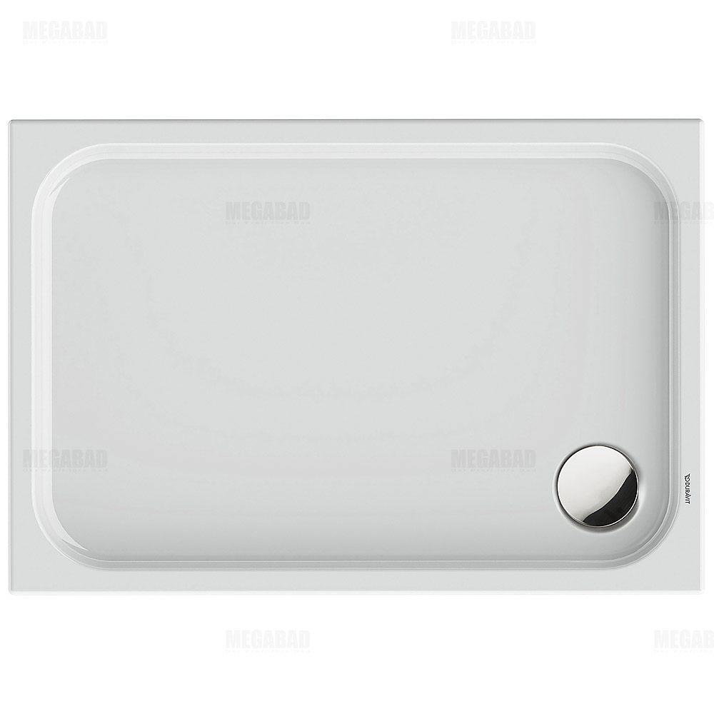 duravit d code rechteck duschwanne 110 x 75 cm 720097. Black Bedroom Furniture Sets. Home Design Ideas
