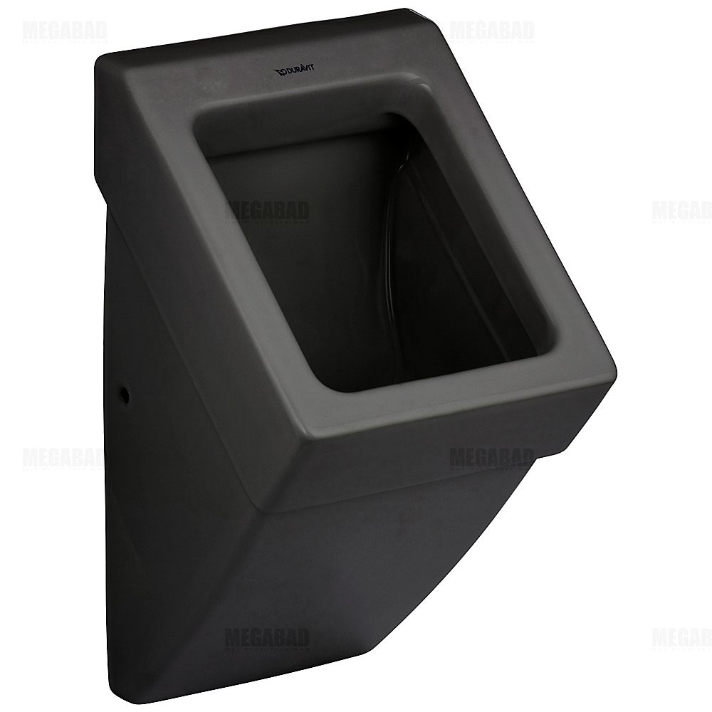 duravit vero black urinal ohne deckel art 2800320800. Black Bedroom Furniture Sets. Home Design Ideas