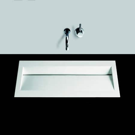 alape flach einbaubecken fb ry800 80 x 42 cm megabad. Black Bedroom Furniture Sets. Home Design Ideas