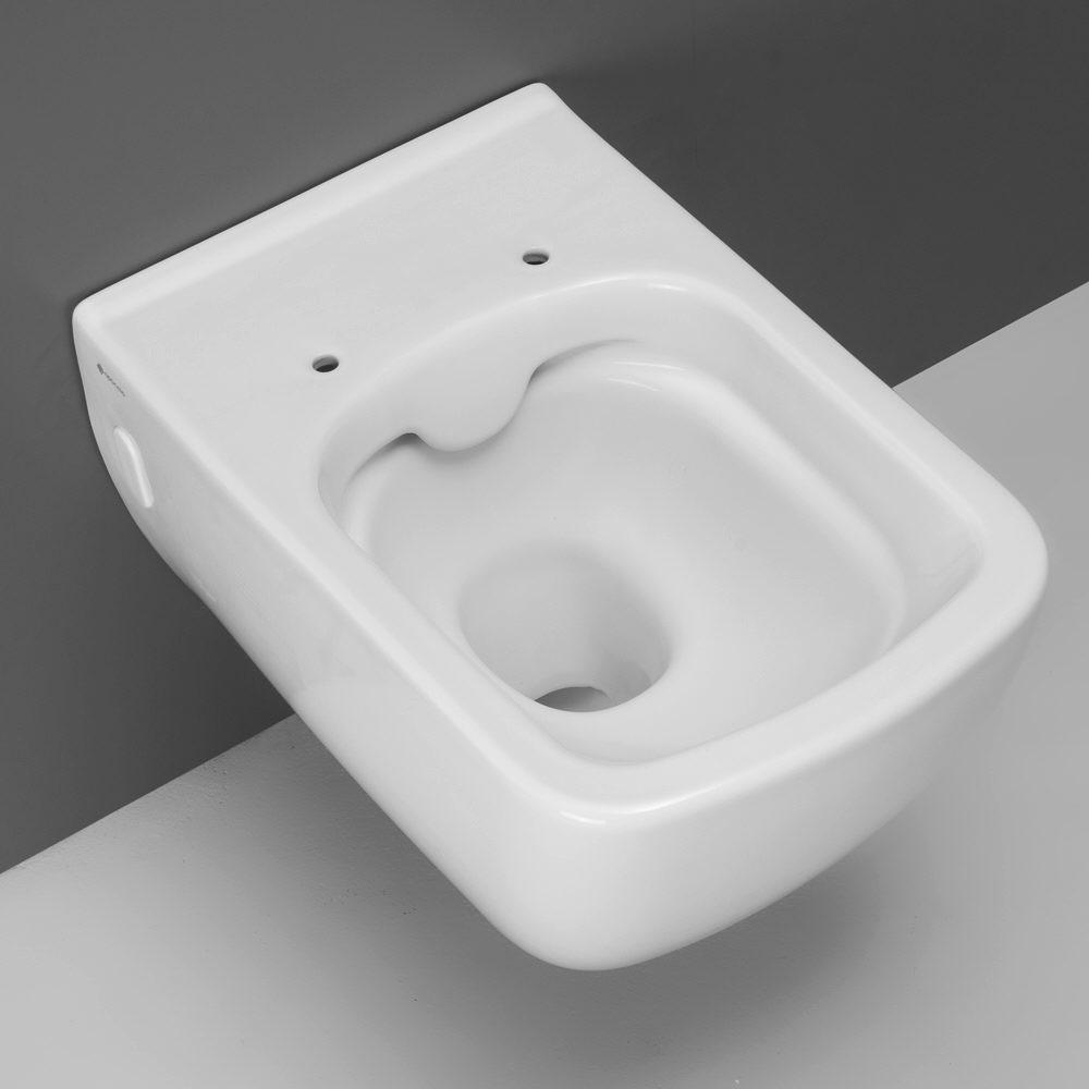 Megabad design fara 2 0 wand wc spülrandlos