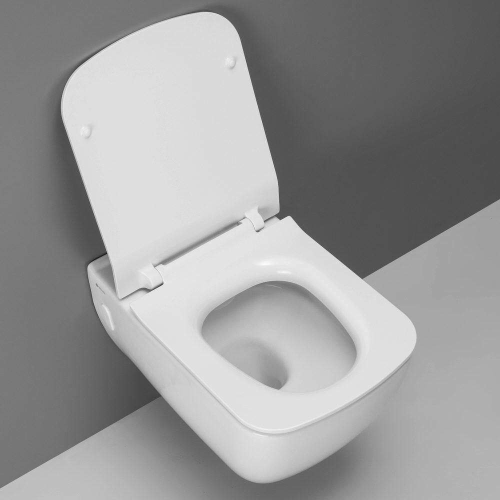 Fantastisch Megabad Design / Fara 2.0 Wand-WC, spülrandlos MBCSWCCLMET - MEGABAD AJ68