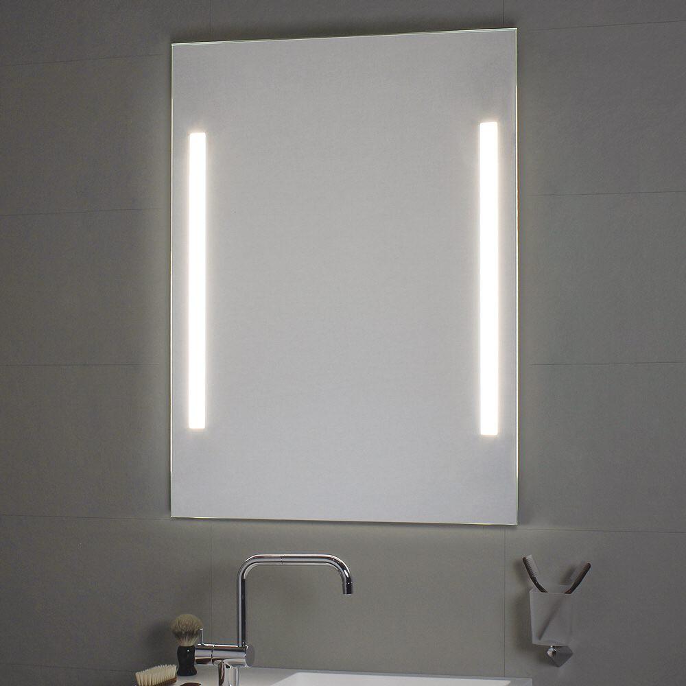 koh i noor spiegel mit seitenbeleuchtung t5 60 x 80 cm 45712 megabad. Black Bedroom Furniture Sets. Home Design Ideas