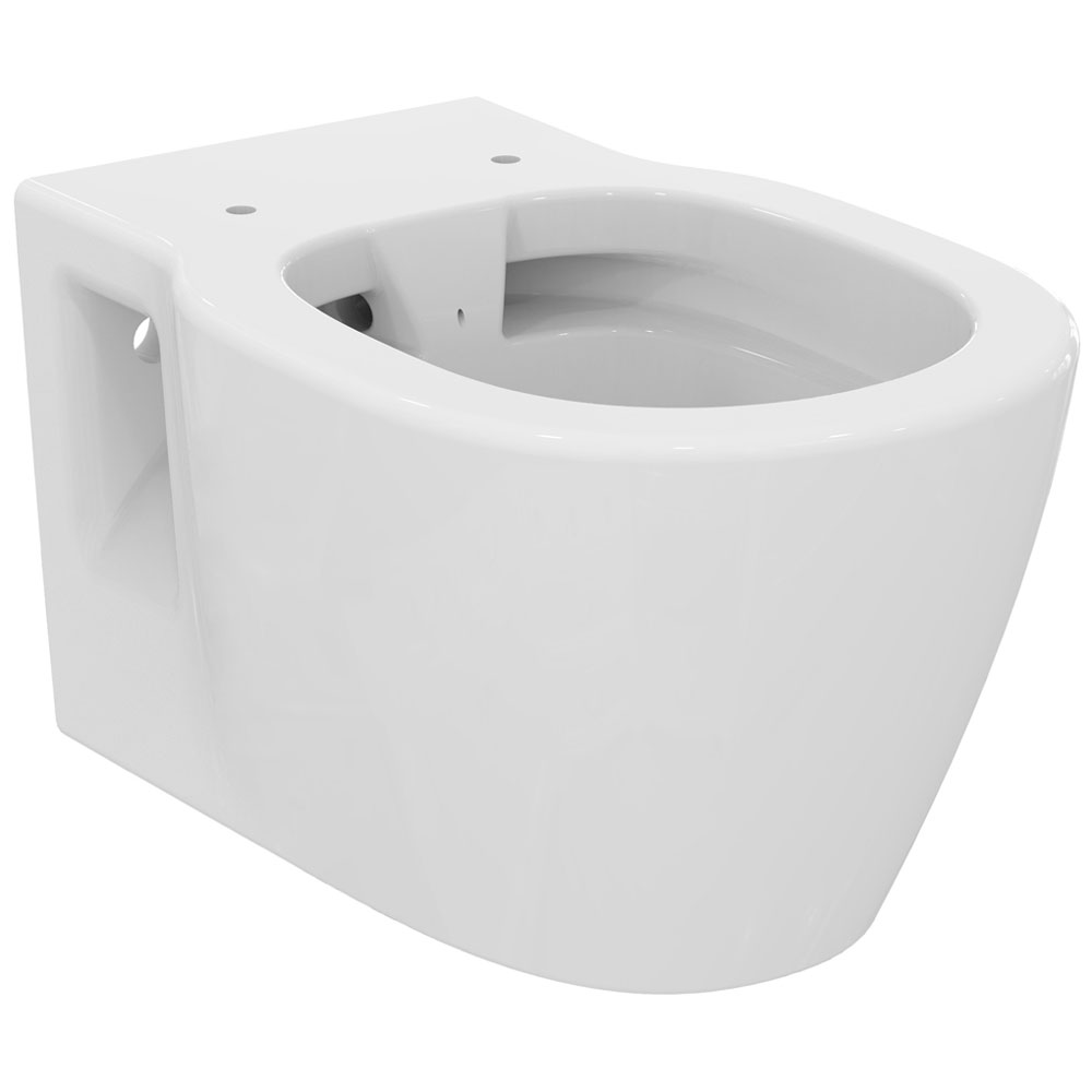 Ideal standard connect wandtiefsp lklosett e8174 for Lunette wc ideal standard