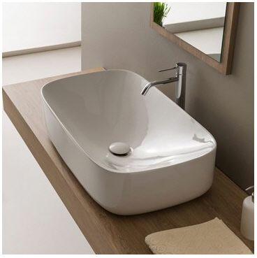 scarabeo moon aufsatzwaschbecken 70 x 42 cm 5502 megabad. Black Bedroom Furniture Sets. Home Design Ideas