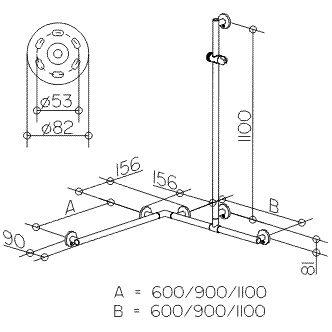 keuco plan care duschhandlauf mit brausestange 34915179911 megabad. Black Bedroom Furniture Sets. Home Design Ideas
