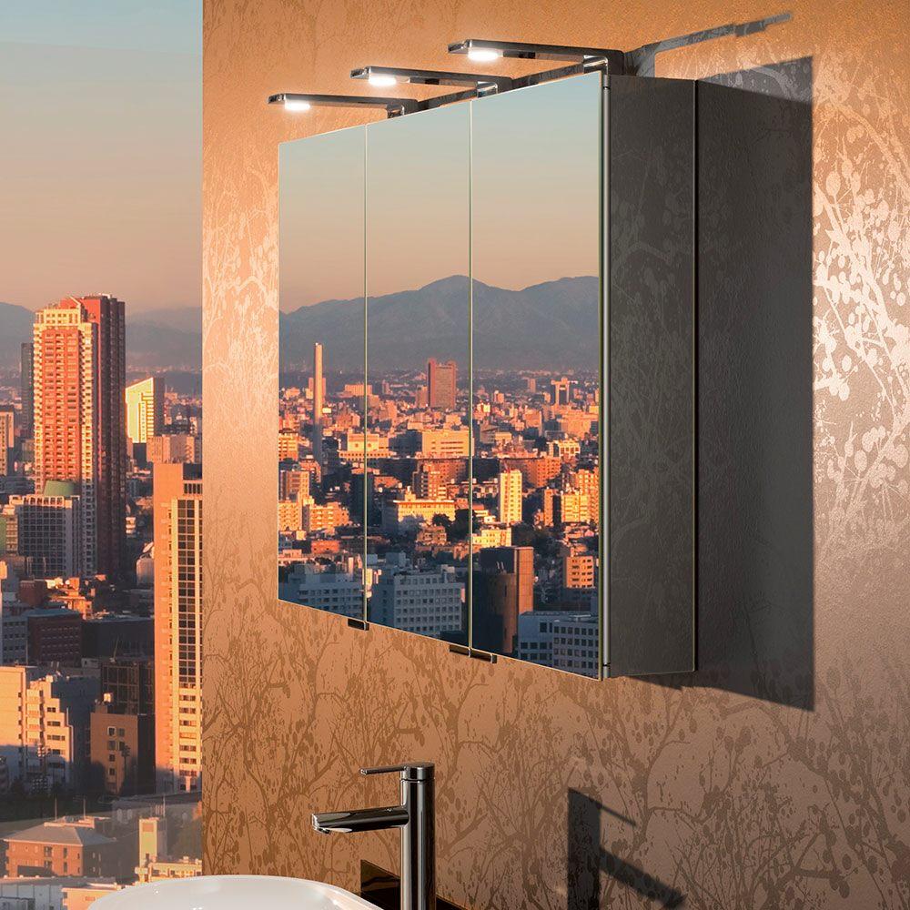 keuco royal universe spiegelschrank 100 cm 12704171301 megabad. Black Bedroom Furniture Sets. Home Design Ideas