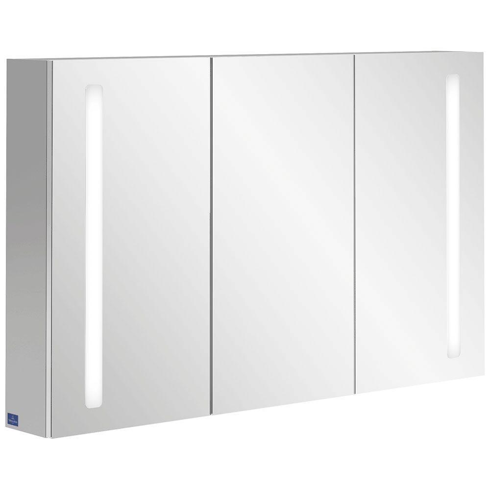 villeroy boch my view 14 spiegelschrank 120 x 75 x 17 3 cm mit led beleuchtung a4231200 megabad. Black Bedroom Furniture Sets. Home Design Ideas